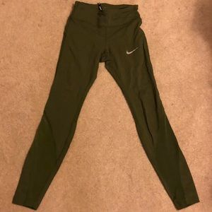 Nike olive green leggings